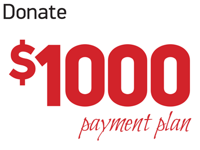 Donate 1000 (payment plan)