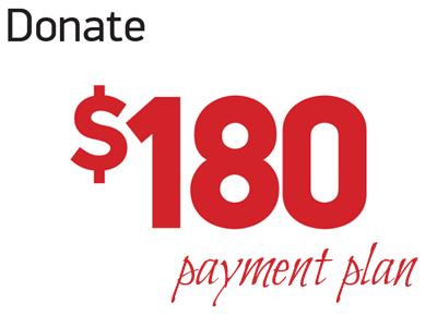 Donate 180 (payment plan)