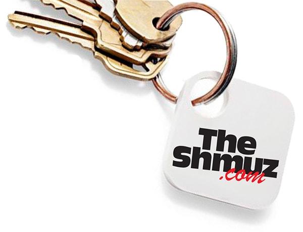 Shmuz Tile Key Finder with Keys